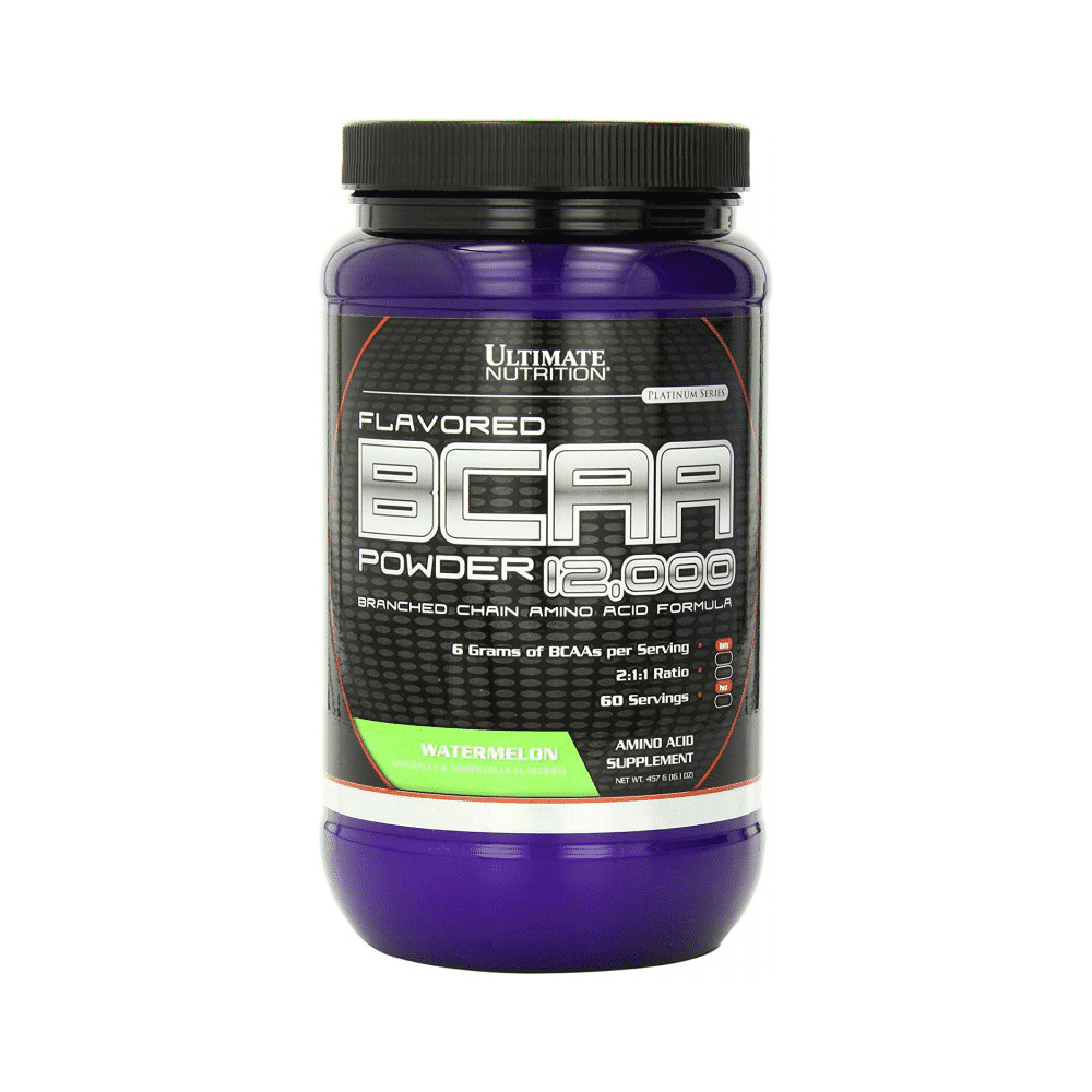 Ultimate Nutrition BCAA 12000 Powder 457 гр арбуз
