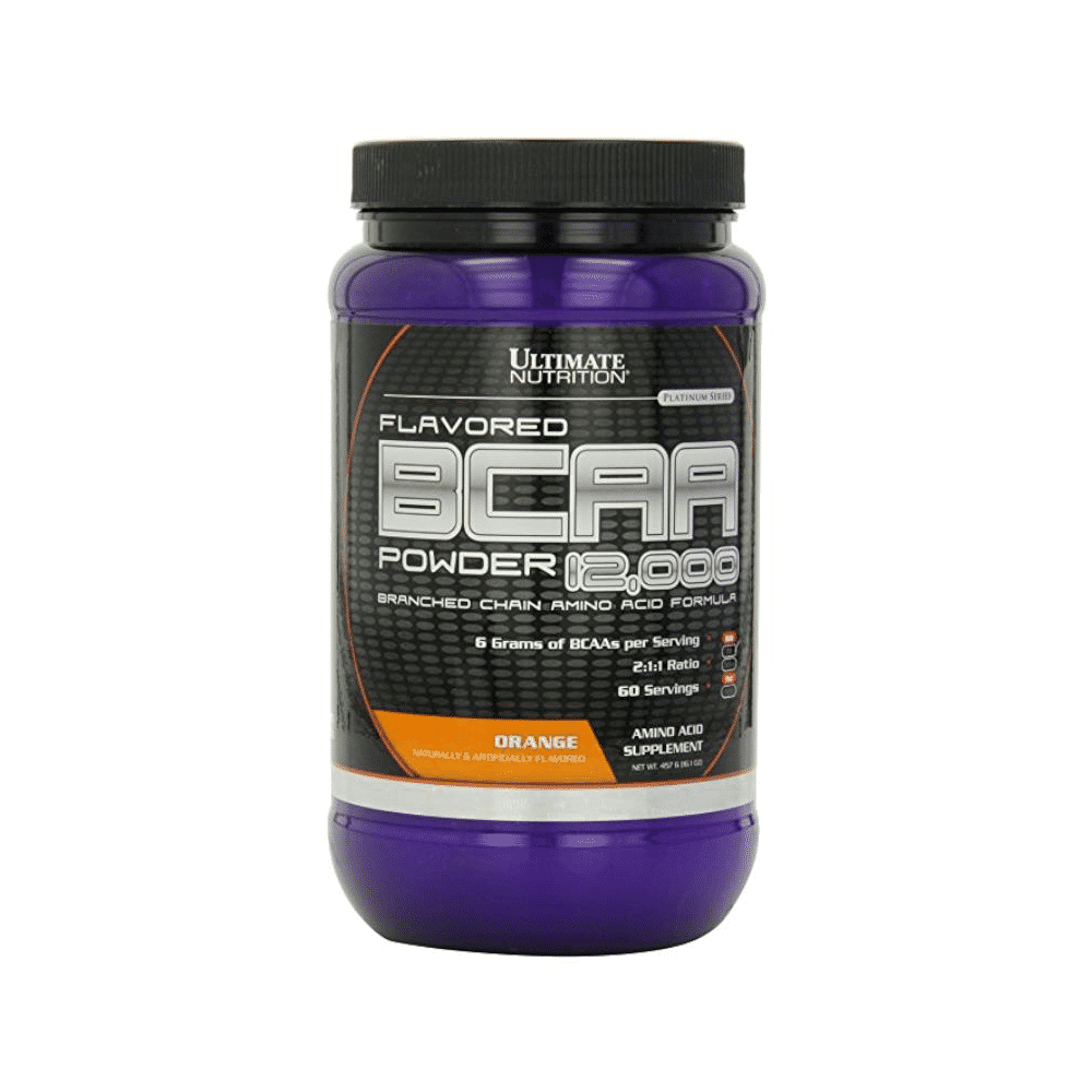 Ultimate Nutrition BCAA 12000 Powder 457 гр апельсин