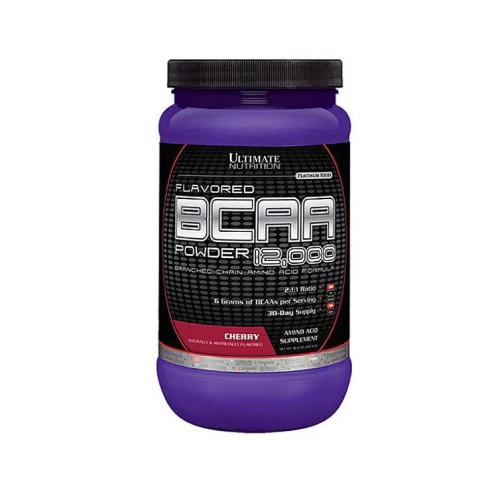 Ultimate Nutrition BCAA 12000 Powder 457 гр вишня